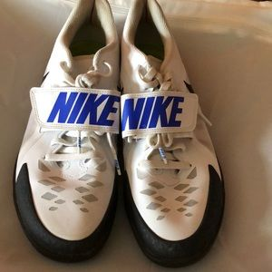 Gently used Nike throwing shoes